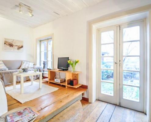 Rahmann Immobilien Wohnzimmer nachher
