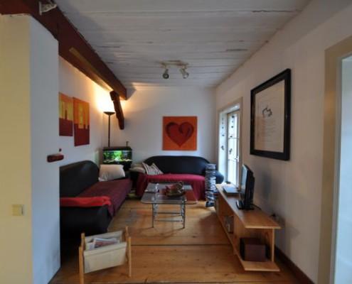 Rahmann Immobilien Wohnzimmer vorher