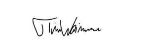 Unterschrift Tim